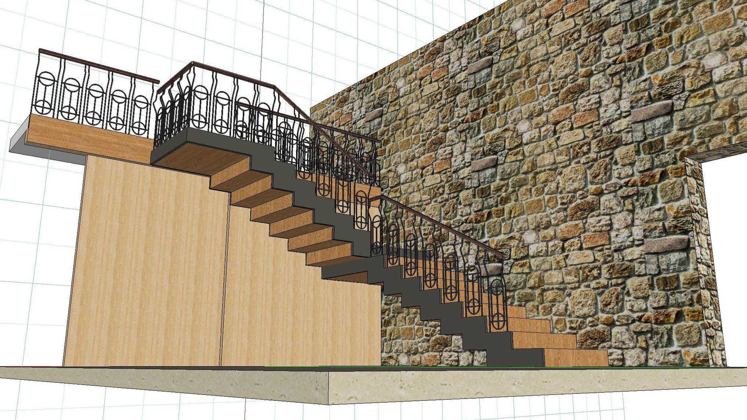Venta escaleras madera cantabria carpinter a eguren s l for Escaleras 15 metros